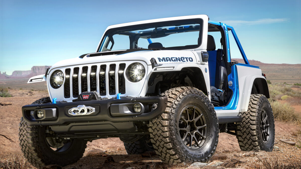 JEEP® Y JEEP PERFORMANCE PARTS PRESENTAN SUS CONCEPTOS PARA EL EASTER JEEP SAFARI 2021