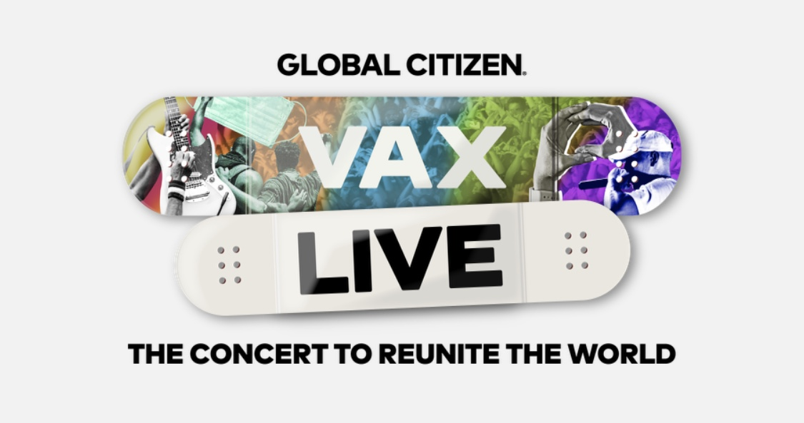 VAX LIVE: THE CONCERT TO REUNITE THE WORLD SE TRANSMITIRÁ POR EL CANAL CARACOL EL 8 DE MAYO